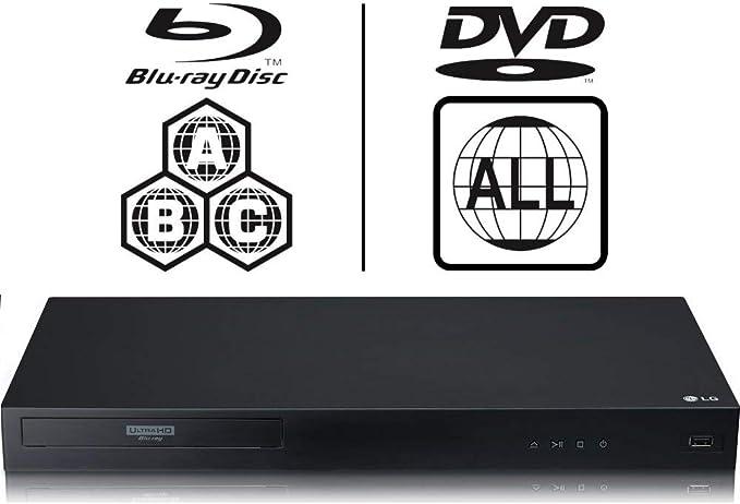 Lg Ubk90 4k Uhd Blu Ray Player Multiregion Blu Ray Elektronik