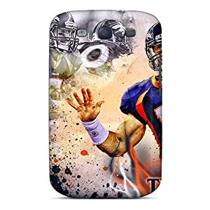 Best Hard Cell-phone Cases For Samsung Galaxy S3 (PCz9311STBr) Provide Private Custom Realistic Denver Broncos Pictures