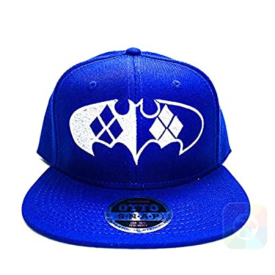 Batman Playing Card Flat Six Panel Pro Style Snapback OttoCap #1058