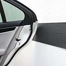 IMEI Car Door Protector, Anti Scratch Adhesive Foam Parking Guard Corner Car Body for Garage Wall 2 Packs