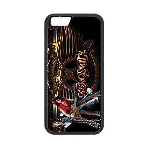 iPhone 6 6S 4.7 Inch funda [Material PC] AEROSMITH HD temático solamente para iPhone 6 6S 4.7 Inch [Color: Negro] FHAGGJLHH6869