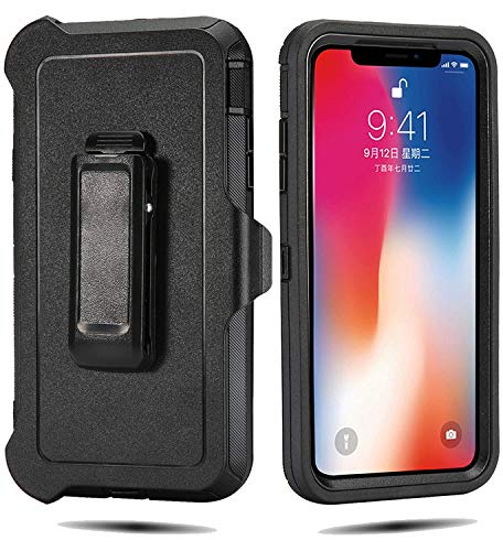 Defender Case for iPhone XS Max 6.5 Inch, Tough Rugged Case