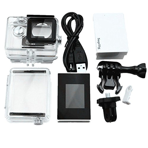 JEERUI LCD Screen +Waterproof Case +Extended Backdoor + Backup Battery +Data Cable +1/4 Adapter +Reserve Battery Latch For Xiaomi Yi (Lcd Latch Kit)