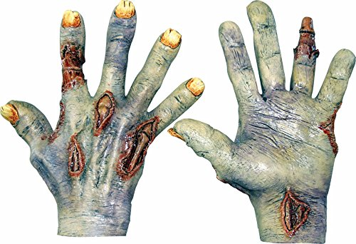 Zombie Undead Hands Costume Gloves (Undead Nightmare Costumes)