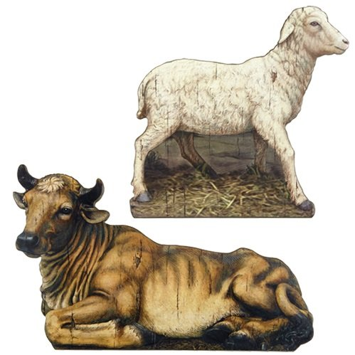 Religious & Catholic Gifts, God's Gift of Love Animal Set by AT001