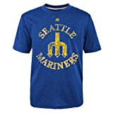 Seattle Mariners First Among Equals Cooperstown Blue T-shirt
