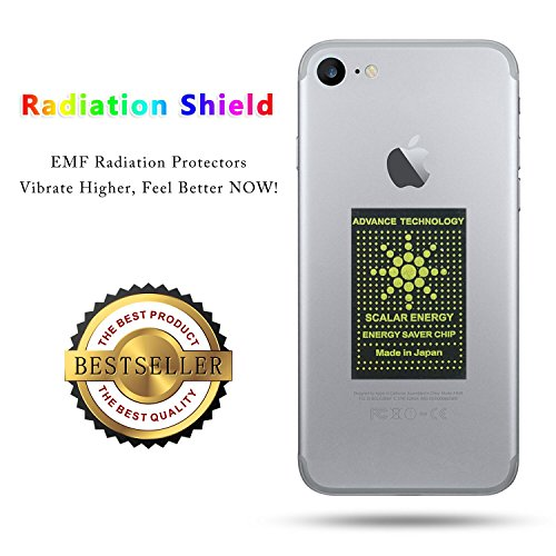 EMF Neutralizer Cell Phone Anti Radiation Protection Shield Sticker-for All EMF Devices-WiFi, iPhone, iPad, Kindle, Laptop-EMF Protector(8pcs)