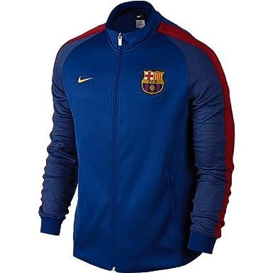 Nike FCB Y NSW N98 TRK Jkt Aut Chaqueta FC Barcelona, Hombre ...