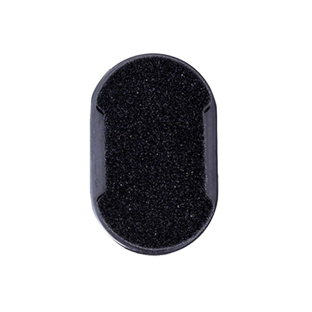 TianranRT Cirage /éponge Double Face Multi Purpose Incolore Chaussure Cire Brosse Small