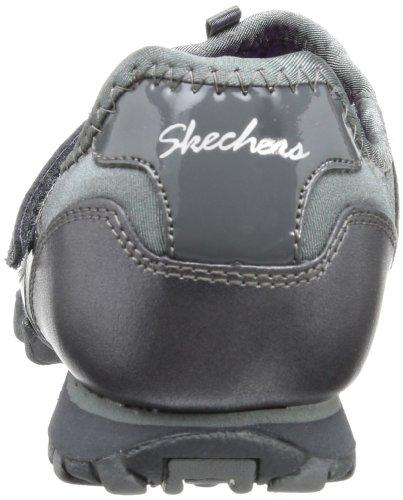 Womens Slip Steady Sneakers Metal On Bikers Gun Rock Skechers qftwxaAI