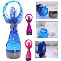 Amrka Portable Mini Cooling Fan Hand Held Spray Water Mist Sport Travel Beach Camp