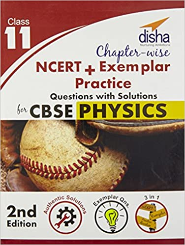 Book Chapter-wise NCERT + Exemplar + Practice Questions with Solutions for CBSE Physics Class 11