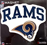 Los Angeles Rams ARCH Style Logo 12'' Magnet Heavy Duty Auto Home NFL Football