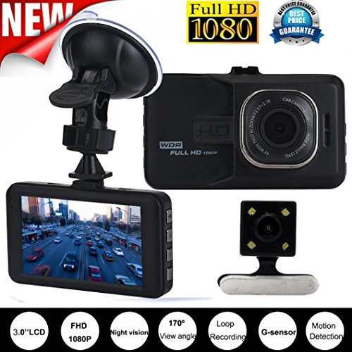 Advanced Portable Car DVR CCTV Camcorder (Black) - 6