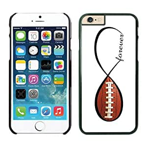 Individual American Football Forever Infinity Forever Iphone 6 Cases 4.7 Inches Black Cover for Cell Phone