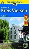 Radwanderkarte BVA Radwandern im Kreis Viersen 1:50.000, reiß- und wetterfest, GPS-Tracks Download (Radwanderkarte 1:50.000)