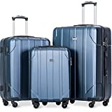 Best Light Luggages - Merax 3 Piece P.E.T Luggage Set Eco-friendly Light Review