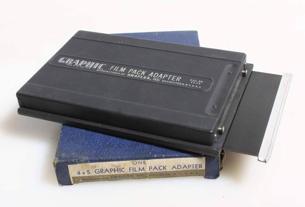 GRAFLEX Graphic FILM PACK ADAPTER Model 1234, Vintage, New in Box