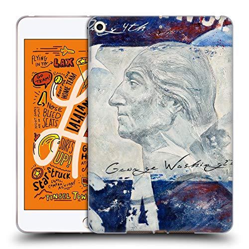 Gel Washington - Official Jason Bullard Washington America Soft Gel Case Compatible for iPad Mini (2019)