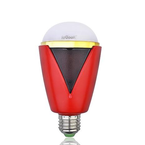 ieGeek - Bombilla LED que cambia de color por control remoto, conexión inalá