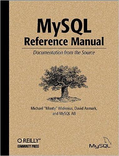 mysql reference manual free download