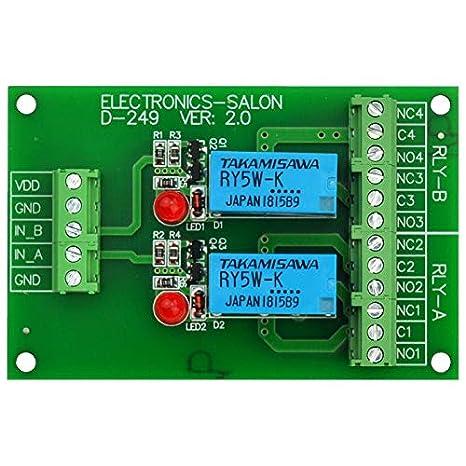 Amazon.com: ELECTRONICS-SALON Dos placas de módulo ...