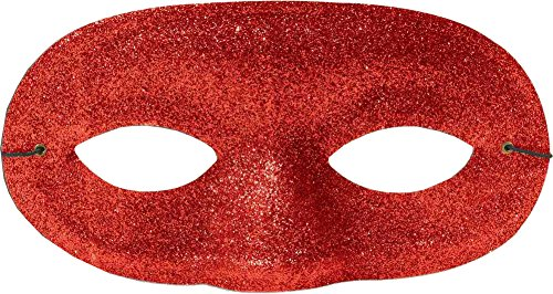Forum Novelties Deluxe Glitter Domino Unisex Mask Party Supplies, One Size ()