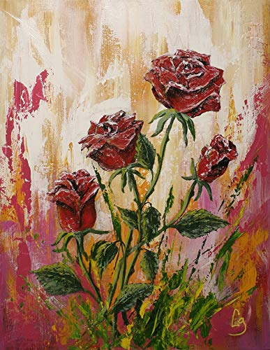 Twisted Roses 16x20