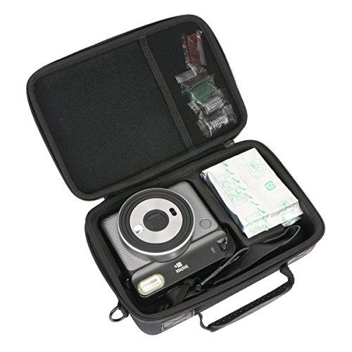 Khanka Hard Travel Case for Fujifilm Instax Square SQ6 - Instant Film Camera