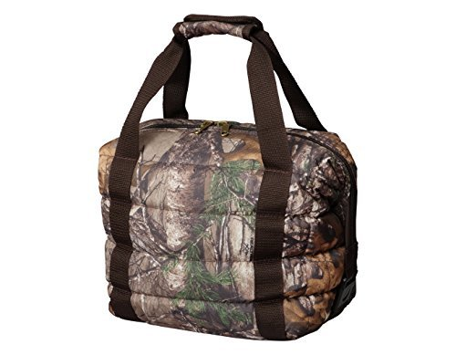 Heavy-Duty Camo Soft Sided Collapsible Cooler Bag by Bayfield Bags - Holds 16 Cans (13x11x7 In) -Lightweight Thermal Cooler with Thick Lining & Insulation (Camo Soft Ice Chest compare prices)