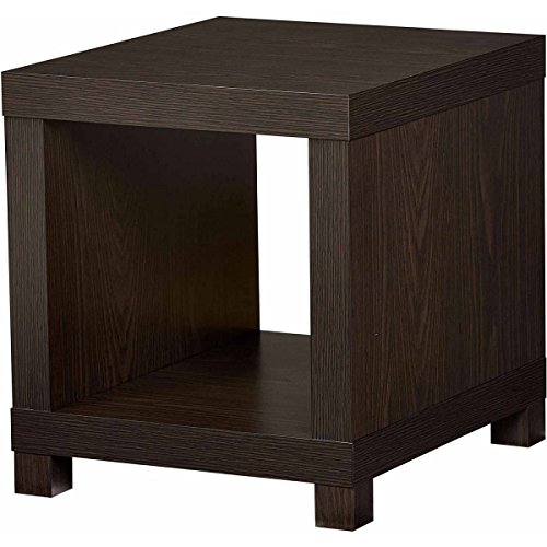 Espresso Square Fits In The Bedroom, Living Room Or Anywhere You Need Extra Storage In The Home Accent Table, Dimensions 17.16Lx20Wx19.13H from Better Homes and Gardens