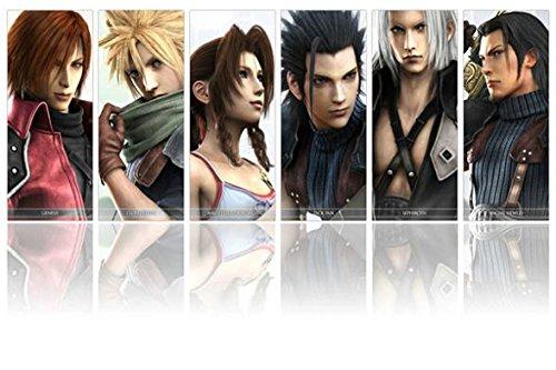 Run Fashion Final Fantasy Ff Ac 7 8 9 10 11 12 Game Silk Wal