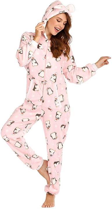 M L /& XL Neuf P.j.s tout en un à Capuche Combinaison//pyjama 5 Styles//Couleurs Tailles S