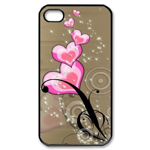 SYYCH Phone case Of Heart-shaped Picture 2 Cover Case For Iphone 4/4s