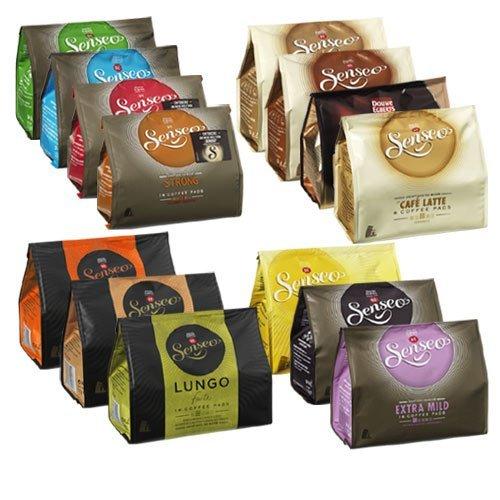 Senseo coffee pods 14 varieties starter - Coffee Cappuccino Senseo Pods