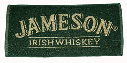 Jameson Irish Whiskey Cotton Bar Towel (pp) & Amazon.com: Jameson Irish Whiskey Cotton Bar Towel (pp): Home \u0026 Kitchen