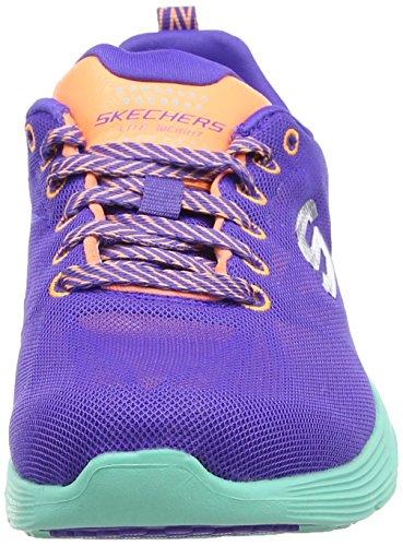 nbsp;Front Page Damen PROR Sneakers Violett Valeris Skechers aHOxBB