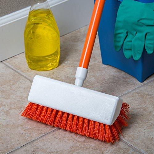Carlisle 4042324 Hi-Lo Floor Scrub Brush, Orange (Pack of 12) by Carlisle (Image #4)