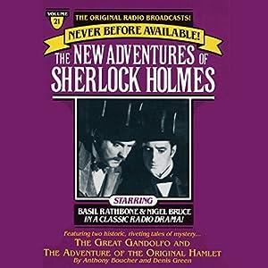 The Great Gondolofo and The Adventure of the Original Hamlet Radio/TV Program