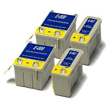 BadgerInks-Cartuchos de tinta para impresora HP Photosmart 5524 4 ...