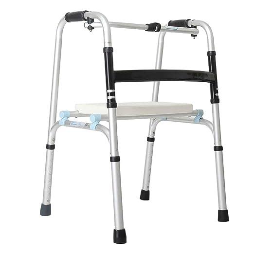 ZEQUAN Silla De Ruedas, Andador, Anciano, Discapacitado ...