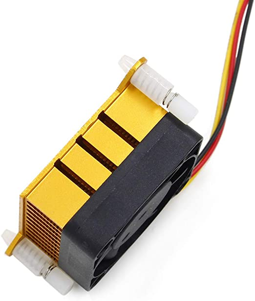 Gold Aluminium Heatsink Fin Cooler For PC Northbridge Chipset Cooling DIY