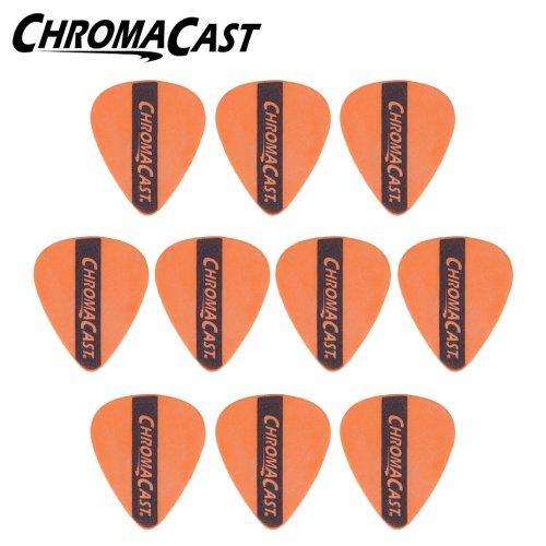 - ChromaCast CC-DP-OR-10PK Dura Picks - 10 Pick Pack - Orange