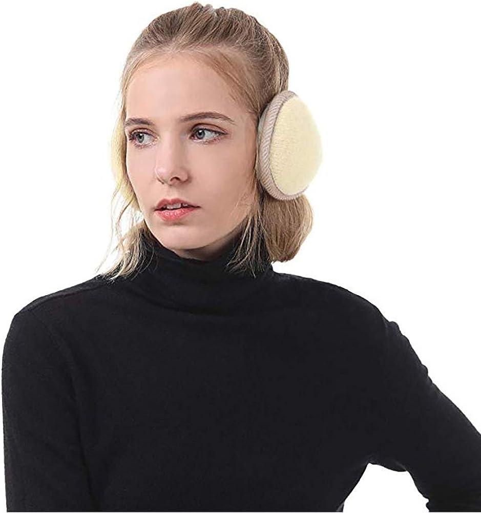 Verstellbar Ohrensch/ützer Queta Winter Ohrensch/ützer Strickwolle Pl/üsch Earmuffs f/ür Damen und Herren Winter Ohrenw/ärmer Innovativer Ear Cover H/ält die Ohren Warm im Winter