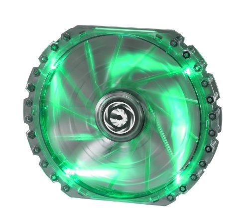 BitFenix Spectre Pro 200mm Green LED Case Fan