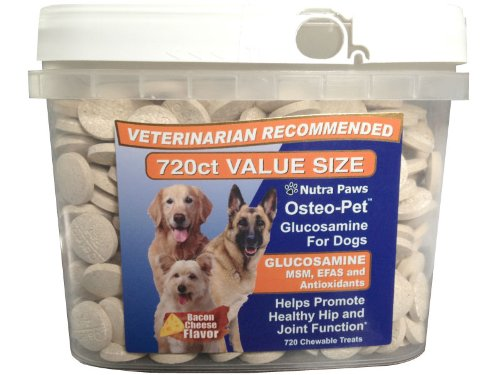 Value Size Osteo-Pet Glucosamine for dogs with MSM and EFAs, My Pet Supplies