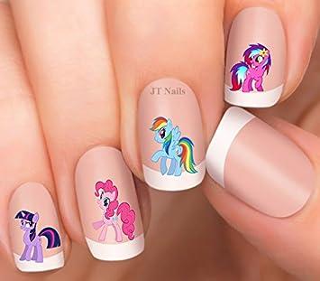 Amazon Super Cute Cartoon Design Pony Nail Art Decals Beauty