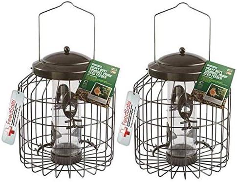 Gardman Heavy Duty Squirrel Big Birds Proof Feeder Seed Peanut Fat Snax Feeder