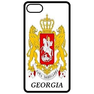 Georgia - Coat Of Arms Flag Emblem Black Apple Iphone 6 (4.7 Inch) Cell Phone Case - Cover wangjiang maoyi