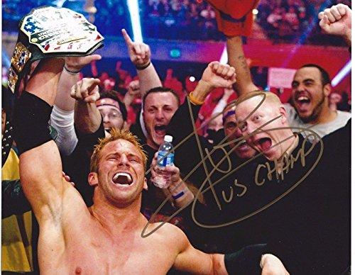 Zack Ryder Signed WWE United States Champion 8x10